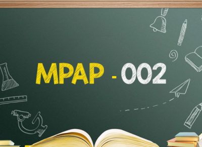 IGNOU Master in Public Administration (MPAP-002)