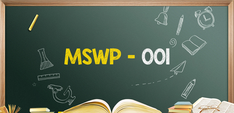 How to write IGNOU Masters of Social Work